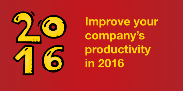 Improve your company's productivity in 2016