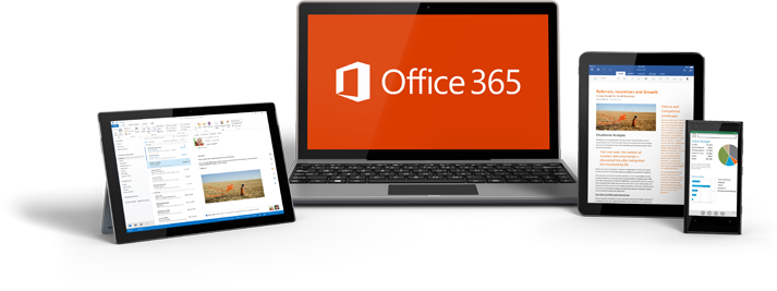 Be productive anywhere on any device with Microsoft Office 365