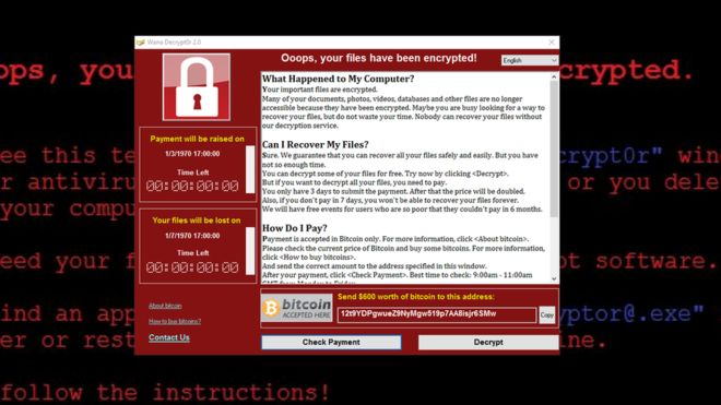Security Advisory: Massive Global Ransomware Attack Underway