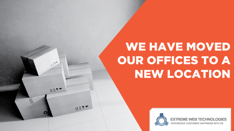 We have moved our office to a new location