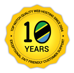 Celebrating 10 years of providing top notch quality web hosting since 2004 with exceptional 24/7 friendly customer support