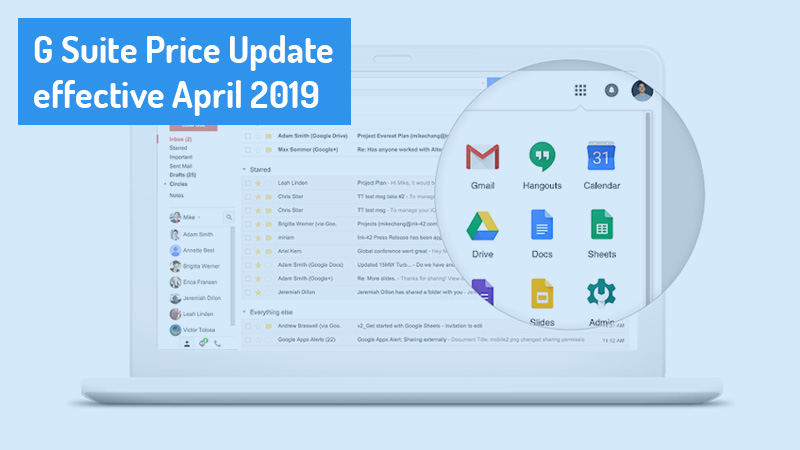 New pricing for G Suite Basic and Business Editions